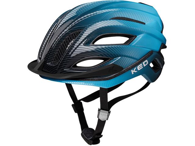KED Champion Visor Helmet blue black